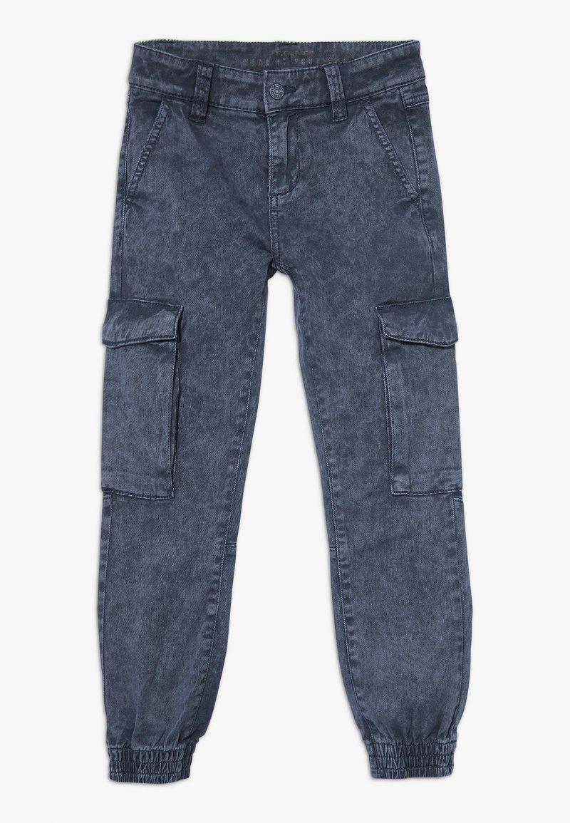 s.Oliver - Pantalones cargo - dark blue