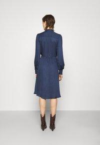 Bruuns Bazaar - BAUMA TILDA DRESS - Vestito estivo - dark blue - 2