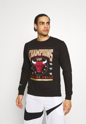 NBA CHICAGO BULLS 6 TIME CREW - Club wear - black
