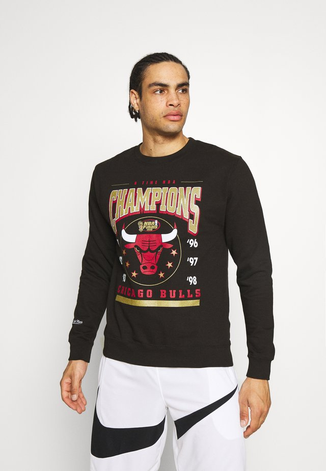 NBA CHICAGO BULLS 6 TIME CREW - Article de supporter - black
