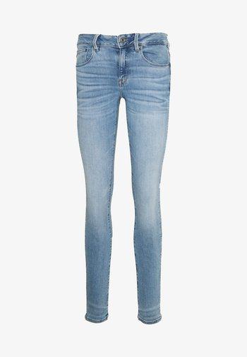 3301 MID SKINNY - Jeans Skinny - light blue denim