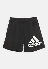 adidas Performance - Krótkie spodenki sportowe - black/white - 0
