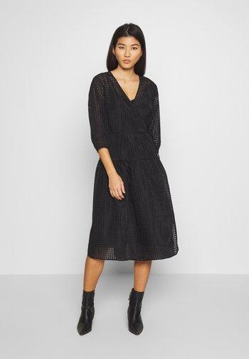MIALC DRESS - Day dress - pitch black