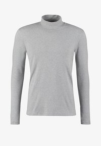 MERKUR - Long sleeved top - light grey melange