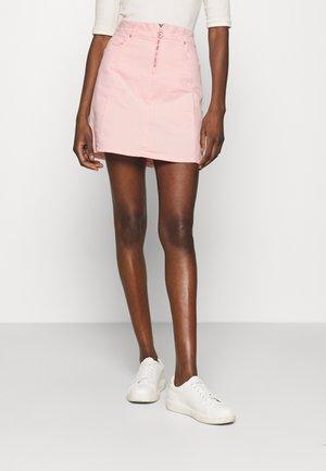 LEMIA  - Mini skirt - coral blush wash