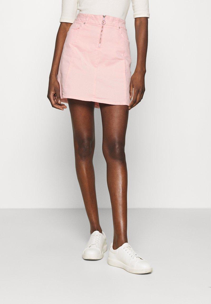 LTB - LEMIA  - Mini skirt - coral blush wash