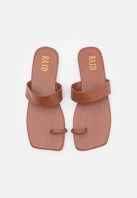 RAID - HYLTON - T-bar sandals - brown - 5