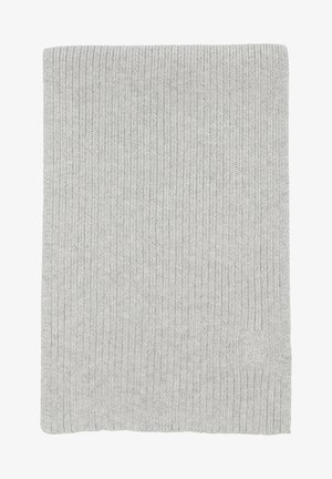 Scarf - light grey melange