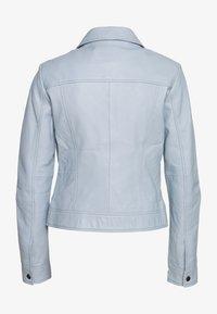 Ibana - JESSY - Leather jacket - ice blue - 1