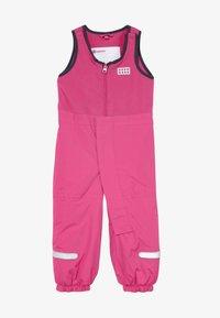 LEGO Wear - LWPUELO - Snowsuit - dark pink - 3