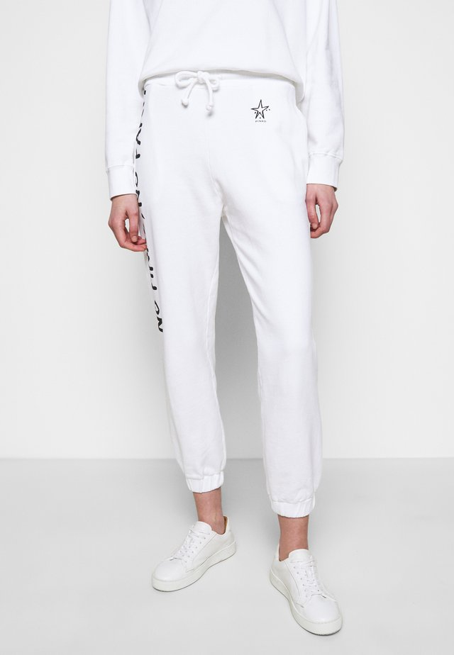 ENOLOGIA - Pantalon de survêtement - white