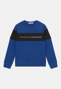 Calvin Klein Jeans - COLOUR BLOCK LOGO  - Sweatshirt - blue - 0