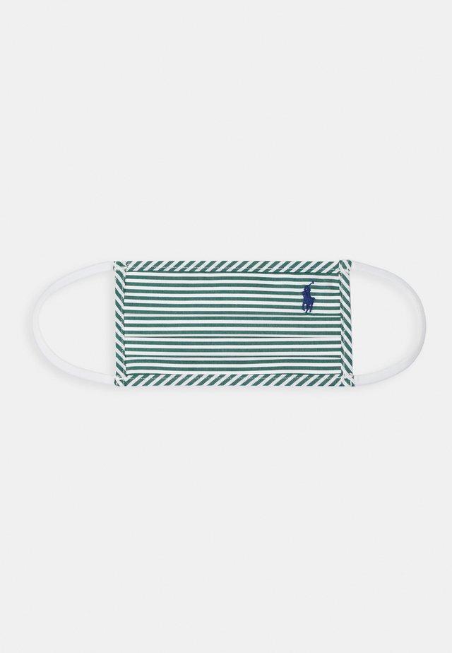 UNISEX - Masque en tissu - pine/white