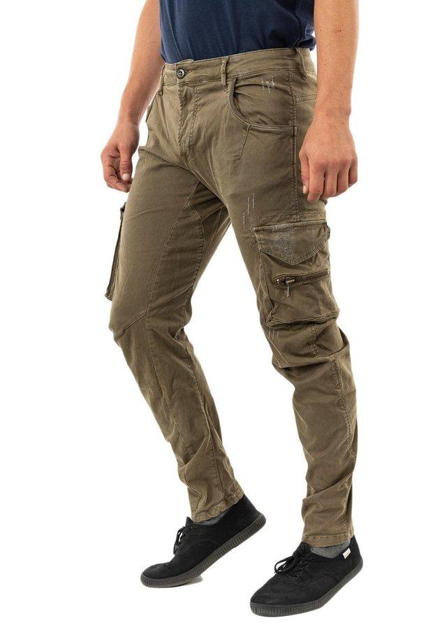 PHMOWA - Cargo trousers - vert