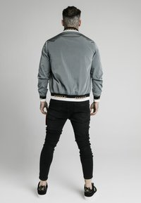 SIKSILK - CRUSHED DELUXE COLLECTION - Bomber bunda - grey - 2