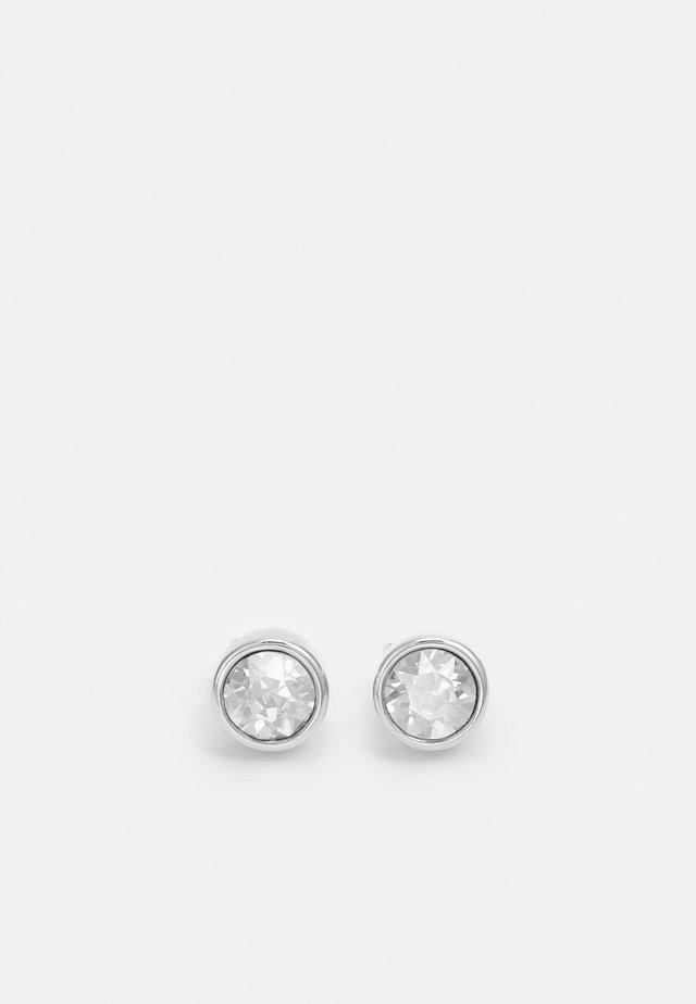 NOBLE EARRING - Earrings - silver-coloured