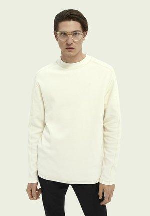 Long sleeved top - denim white