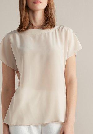 Basic T-shirt - madreperla light