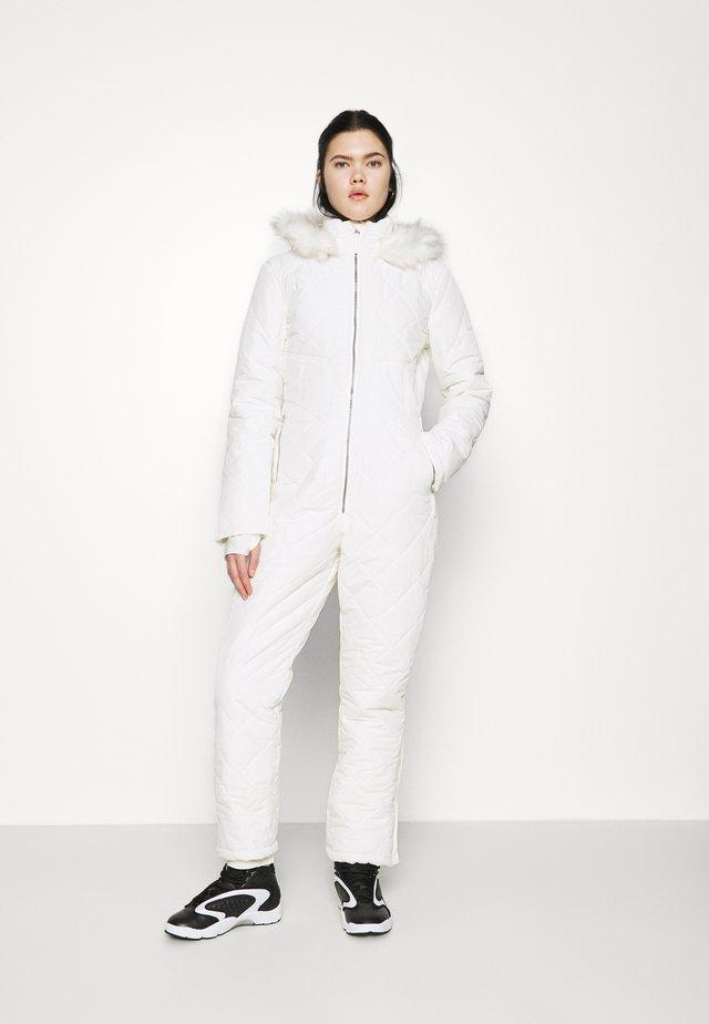 SKI QUILTED CORSET SNOW - Mono - white
