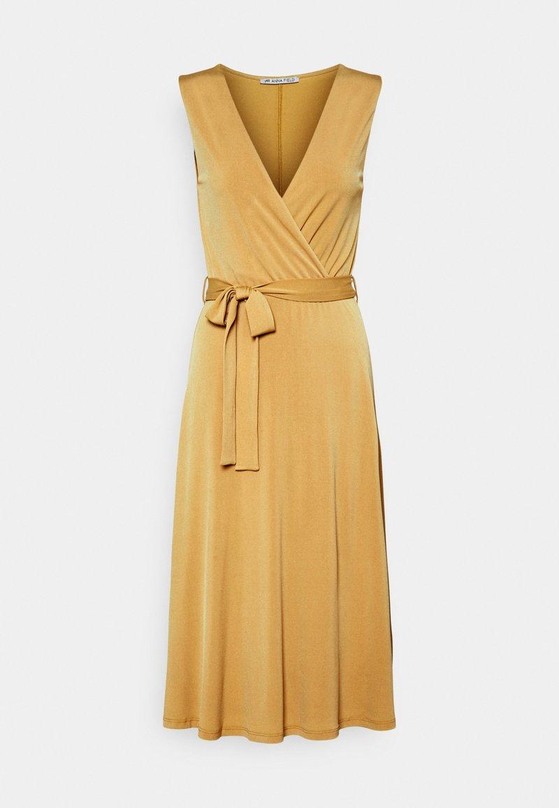 Anna Field - Jerseykjole - light yellow