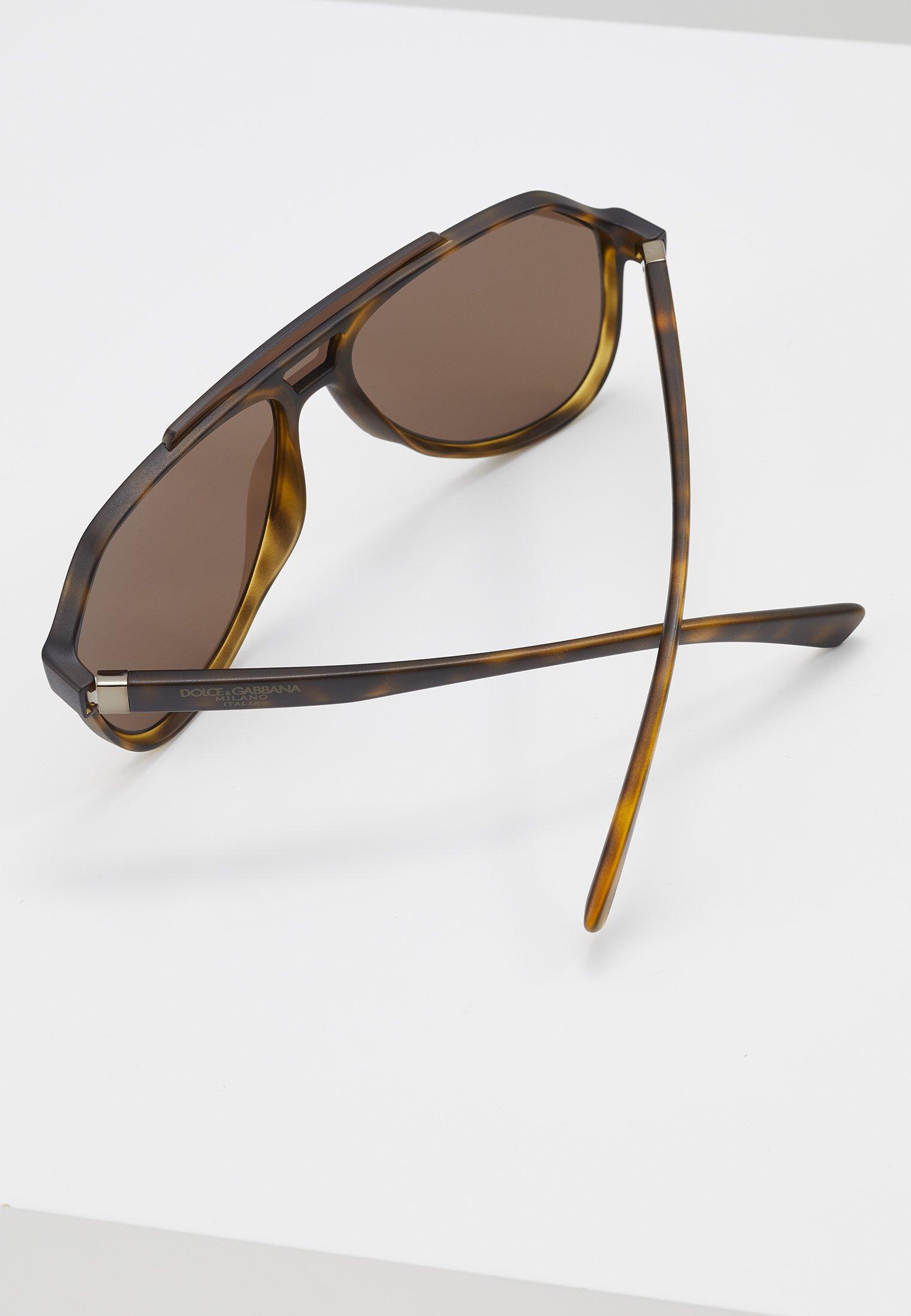 DolceGabbana Sonnenbrille - matte havana/braun - Herrenaccessoires htLTg