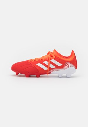 COPA SENSE.3 FG - Moulded stud football boots - red/footwear white/solar red