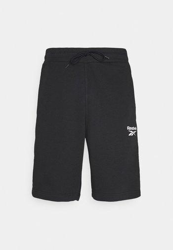 TAPE SHORT - Träningsshorts - black
