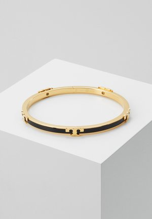 SERIF STACKABLE BRACELET - Armband - gold-coloured/black