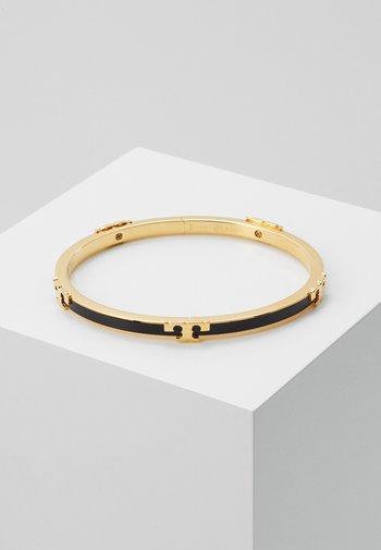 SERIF STACKABLE BRACELET - Armbånd - gold-coloured/black