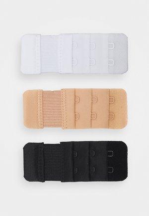 BRA EXTENDER 3 PACK - Andet - white/black/nude