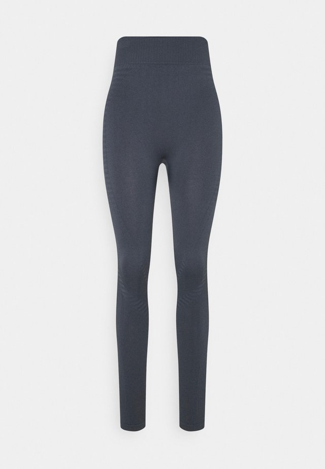 SEAMLESS PANELLED LEGGING - Tights - ombre blue