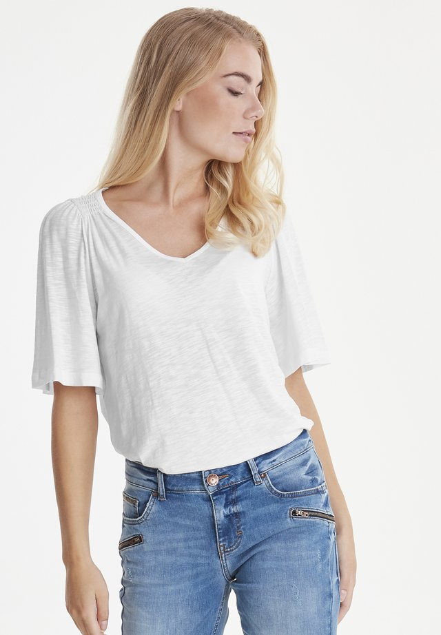 PZLERCHE - Basic T-shirt - bright white