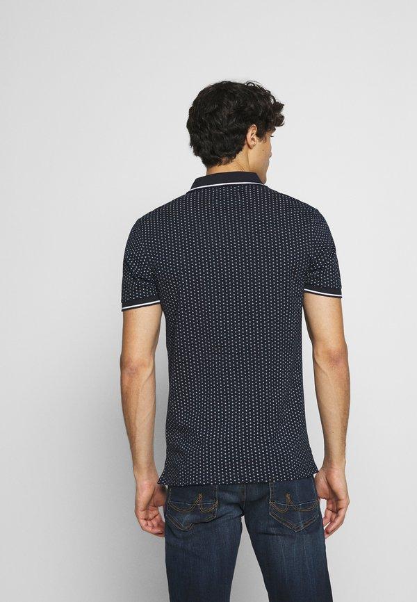 Pier One Koszulka polo - dark blue/granatowy Odzież Męska WLDB