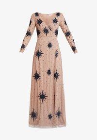 Maya Deluxe - STAR EMBELLISHED WRAP DRESS - Occasion wear - blush/navy - 5