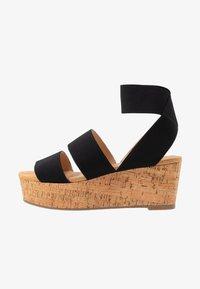 Steven New York - KEASHA - Sandály na platformě - black - 1