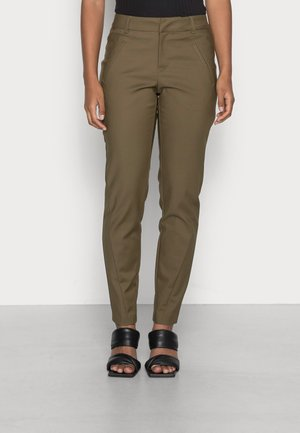 VMVICTORIA ANKLE PANTS - Trousers - dark olive