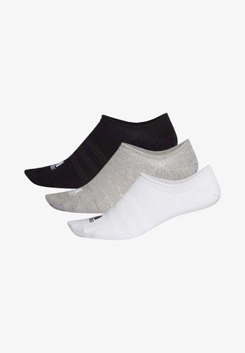 LIGHT NO-SHOW NO SHOW 3 PAIR PACK - Calcetines tobilleros - grey