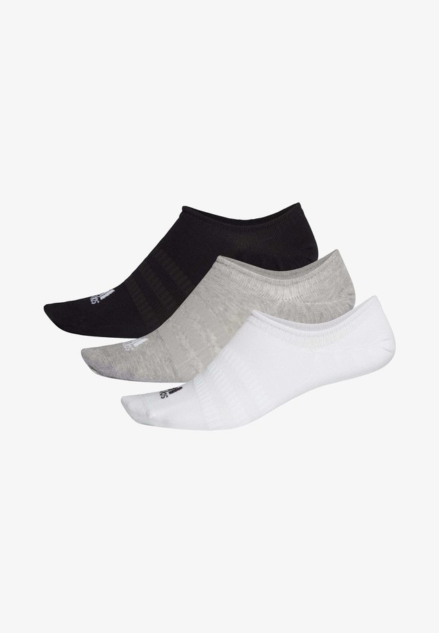 LIGHT NO-SHOW NO SHOW 3 PAIR PACK - Trainer socks - grey