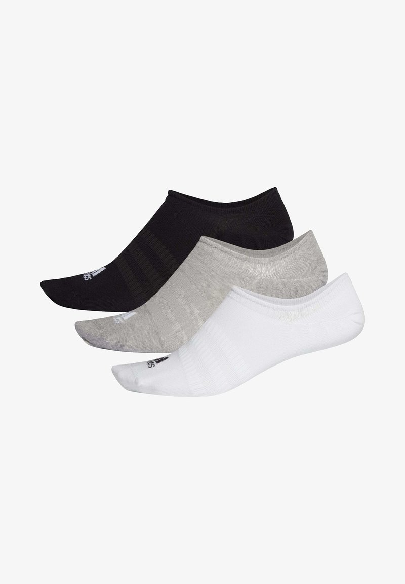 adidas Performance - LIGHT NO-SHOW NO SHOW 3 PAIR PACK - Stopki - grey