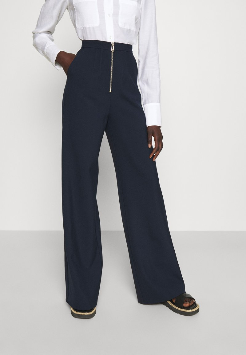 MAX&Co. - MORESCO - Trousers - midnight blue