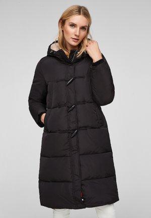 MIT KUNSTFELL - Winter coat - black