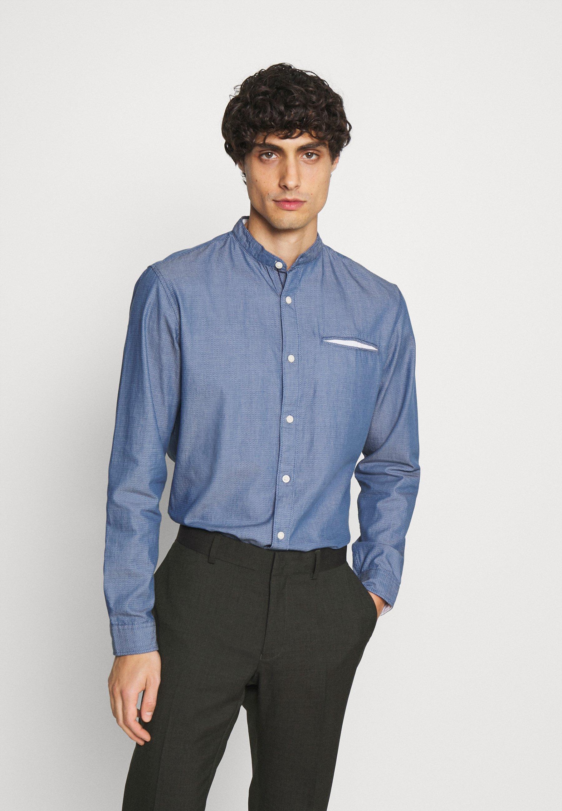 Men SLHSLIMTEXAS - Shirt