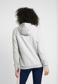Reebok Classic - BIG LOGO HOODIE - Bluza z kapturem - light grey heather - 2