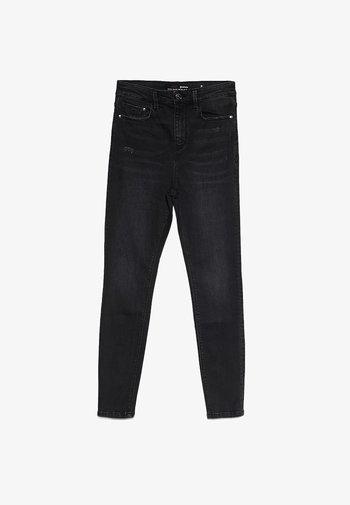 HIGH WAIST  - Skinny džíny - black