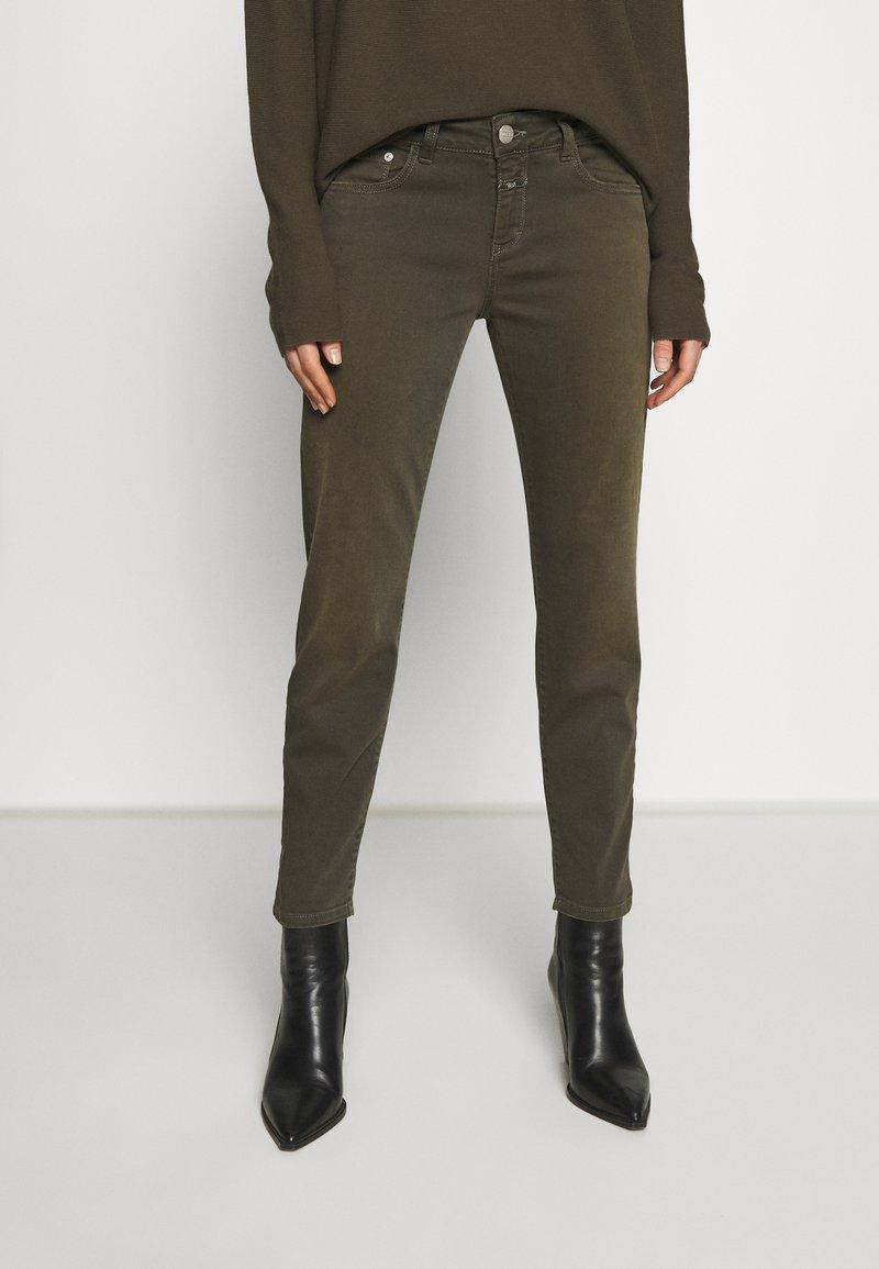 CLOSED - BAKER - Skinny džíny - shadow green