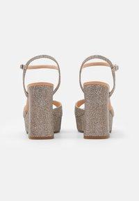 Unisa - VEGARA - Platform sandals - mumm/sunta - 3