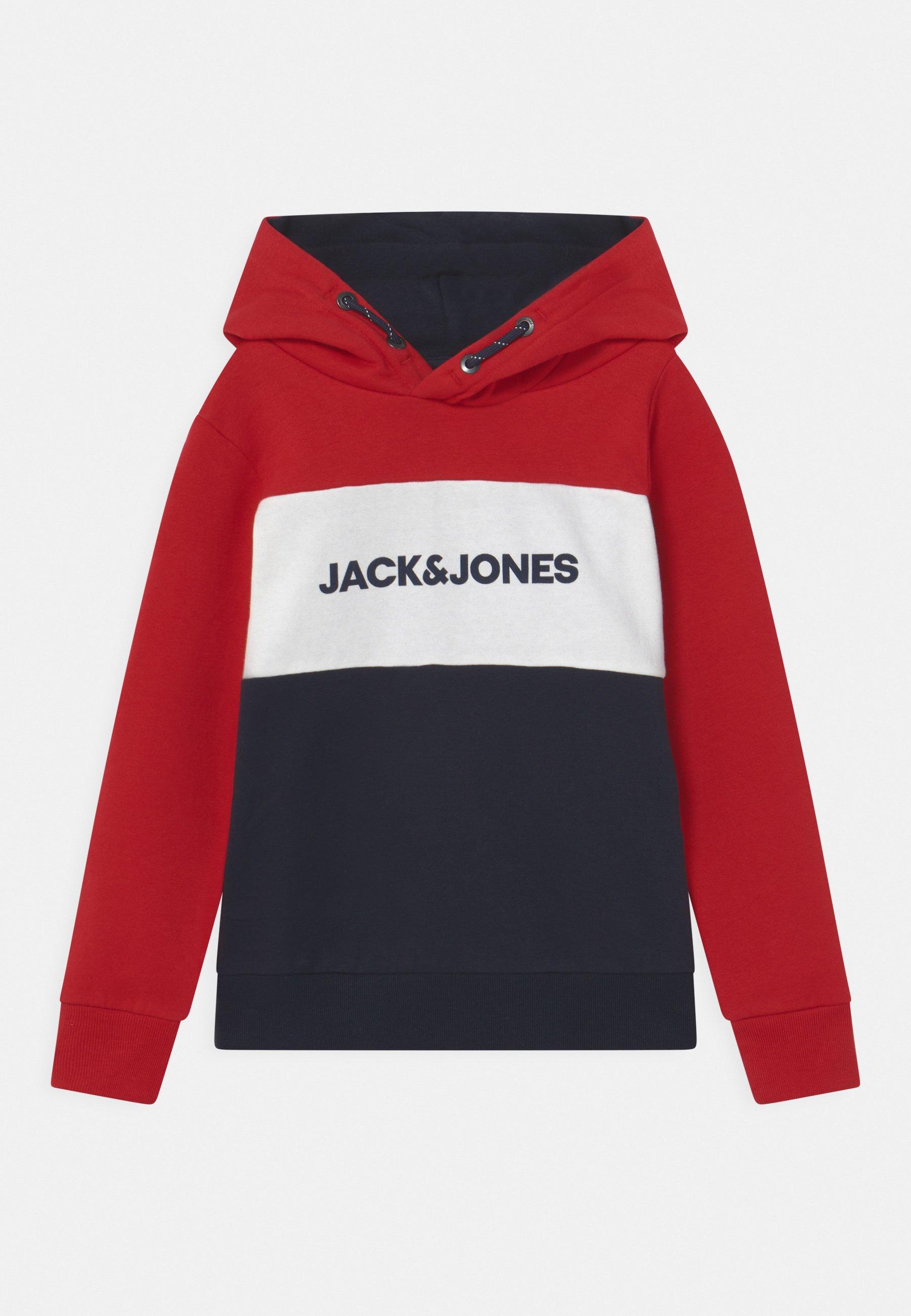 Kinder JJELOGO BLOCKING HOOD JR - Kapuzenpullover