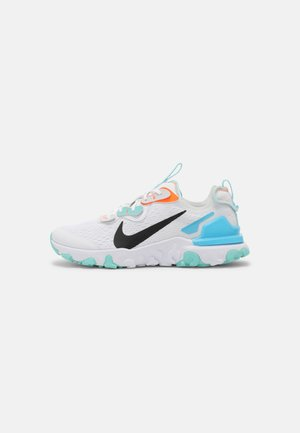 REACT VISION UNISEX - Sneakers basse - white/black/total orange/chlorine blue