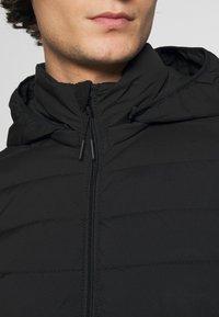 Abercrombie & Fitch - PUFFER JACKET - Light jacket - black - 6