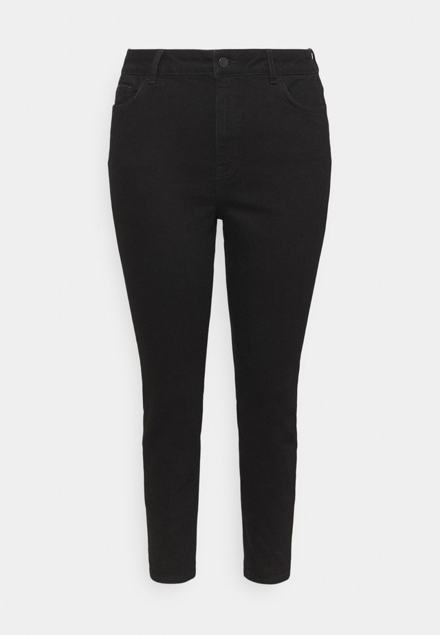 HIGH RISE - Jeans Skinny Fit - black